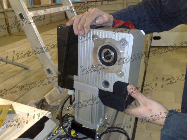 ремонт FAAC 540 замена блока концевиков